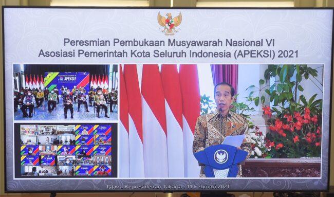 Buka Munas Apeksi, Presiden Minta Pemda Perbanyak Program Padat Karya 111