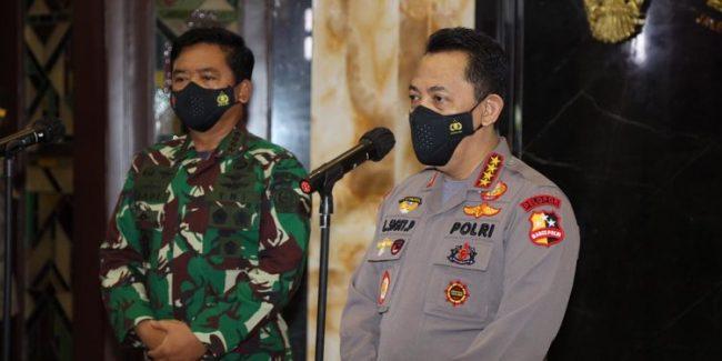 Rapim TNI-Polri 2021 Solidkan Barisan Kawal Vaksinasi Hingga Pulihkan Ekonomi Nasional 111