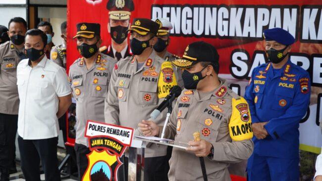 Polres Rembang Berhasil Ungkap Kasus Pembunuhan Satu Keluarga, Pelaku Terancam Hukuman Mati/Seumur Hidup 111