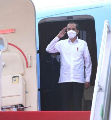 Bertolak ke Kalimantan Selatan, Presiden Jokowi Akan Resmikan Bendungan Tapin 111