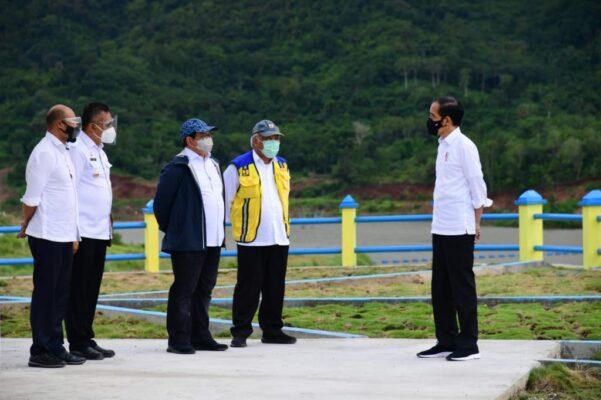 Diresmikan Presiden, Bendungan Napun Gete Tingkatkan Produktivitas Pertanian & Peternakan Di NTT 111