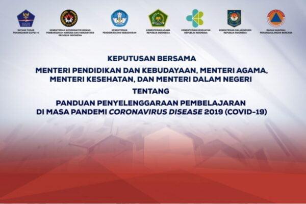 SKB 4 Menteri, Pemerintah Dorong Akselerasi Pembelajaran Tatap Muka Terbatas 113