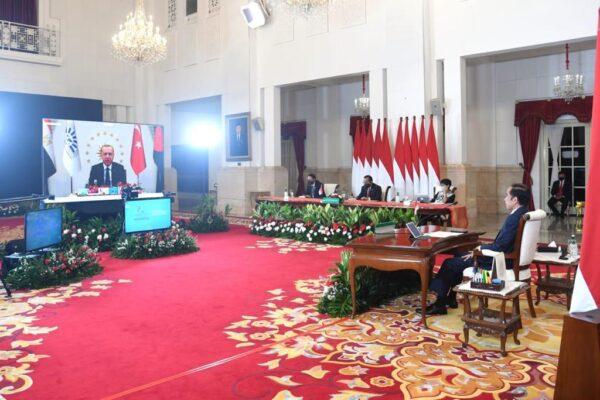 Dihadiri Presiden Jokowi Secara Virtual, KTT D-8 Hasilkan Dua Dokumen 103