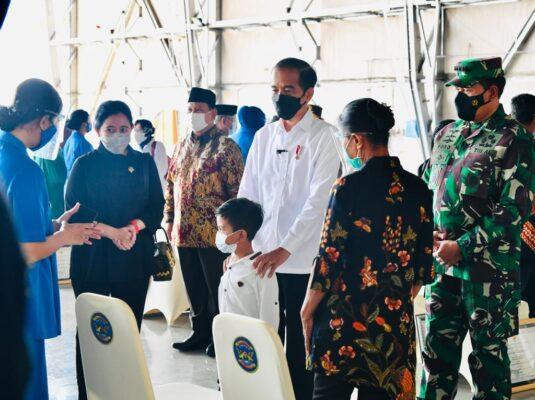 Presiden Bersilaturahmi dengan Keluarga Awak KRI Nanggala 402 113