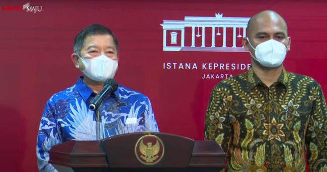 Presiden Jokowi Terima Sejumlah Asosiasi Profesi Bahas Rencana Pembangunan Ibu Kota Negara 113