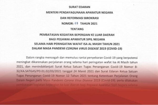 Menteri PANRB Terbitkan Larangan ASN Bepergian Saat Libur Peringatan Wafat Isa Almasih 103