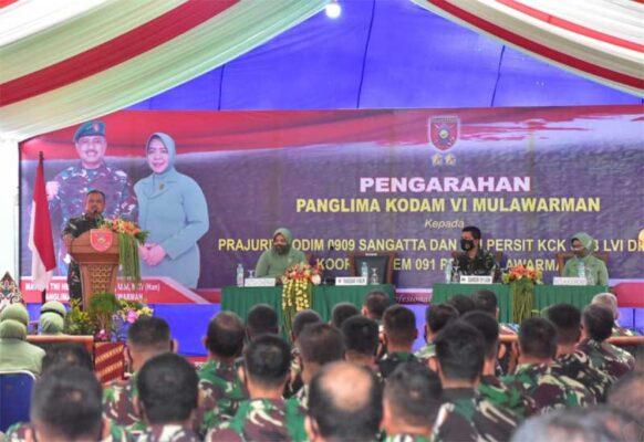 Kunker Perdana Pangdam VI Ke Kutim, Mayjen Heri Wiranto : Landscape Bukit Pelangi Sangat Megah 113