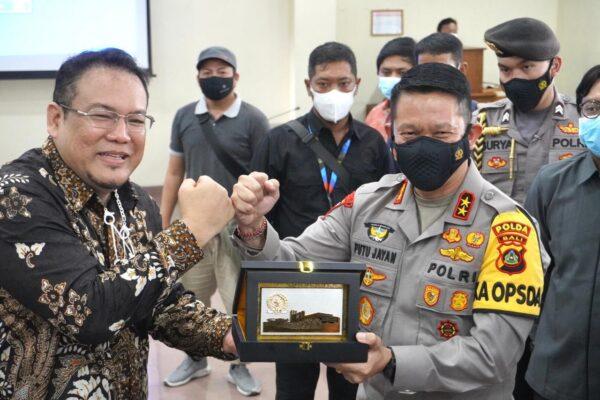 Kapolda Bali Hadiri Sosialisasi Mahkamah Kehormatan Dewan DPR RI di Provinsi Bali 103