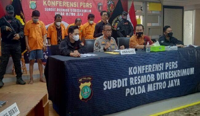 Polda Metro Ringkus Pelaku Penggerebekan Berkedok Anggota Polri 113