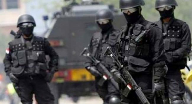 Densus 88 Polri Tembak Mati Terduga Teroris Makassar 113
