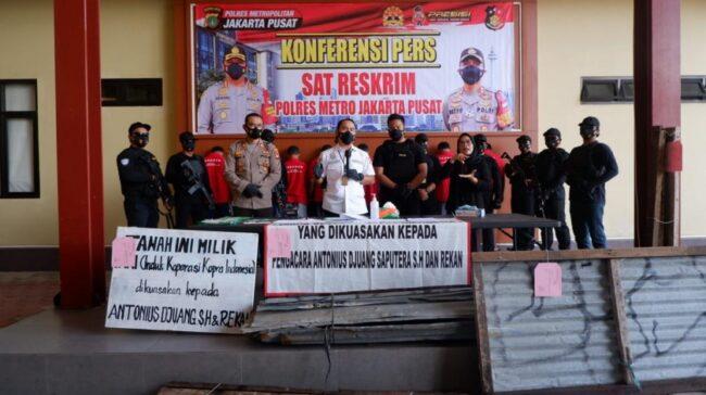 Ringkus Mafia Tanah, Polres Jakpus Gaungkan Zero Premanisme 113