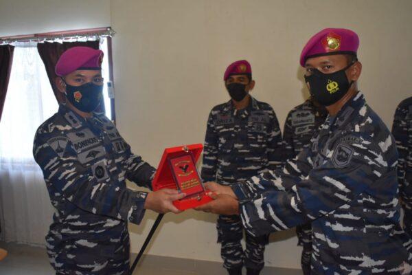 Danyonmarhanlan II Pimpin Penyerahan Jabatan Perwira Seksi Operasi Yonmarhanlan II 113
