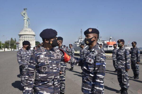 Pangkoarmada II Pimpin Gelar Kesiapan Pasukan GugusTugas Penembakan Senjata Strategis TNI AL 113