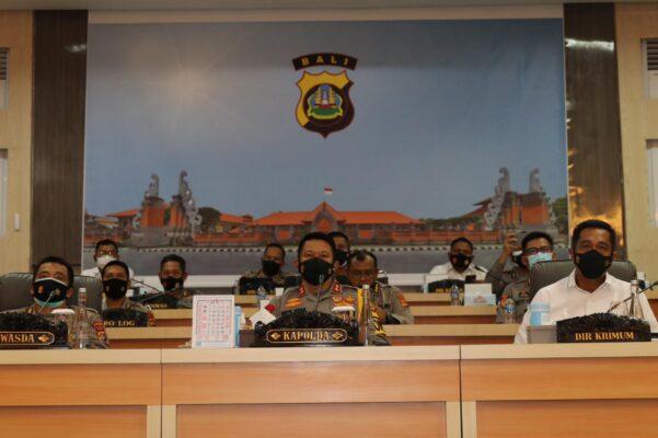 Secara Virtual, Kapolda Bali Hadiri Launching Website SP2HP Online dan E-PPNS 113