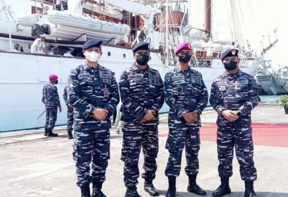Prajurit Yonmarhanlan III Sambut Kedatangan Kapal Perang Angkatan Laut Spanyol 113