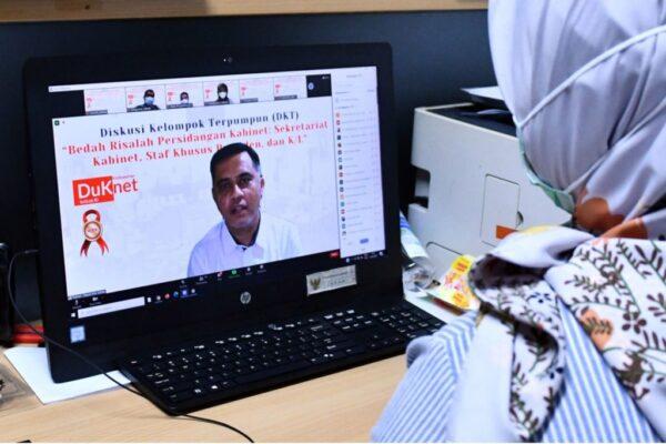 Tingkatkan Kualitas Dukungan Manajemen Kabinet, Setkab Gelar FGD Bedah Risalah Sidang Kabinet 113