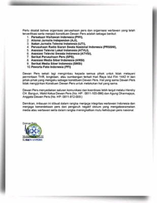 Edarkan Siaran Pers Tahunan, Wilson Lalengke : DP Kurang Kerjaan 115