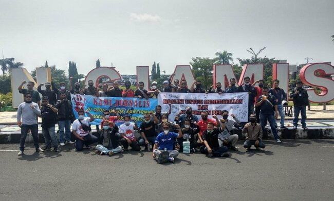 Forum Jurnalis Ciamis Melawan: STOP !!! KEKERASAN TERHADAP JURNALIS 113