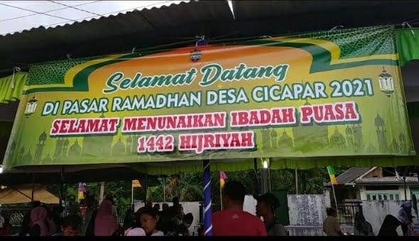 Desa Cicapar Gelar Pasar Ramadhan 113