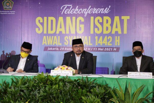 Pemerintah Tetapkan 1 Syawal 1442H Jatuh Pada Kamis, 13 Mei 2021 113
