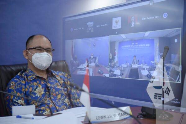 Setkab RI dan Kementerian Legislasi Korsel Gelar Seminar Sistem Interpretasi UU 113