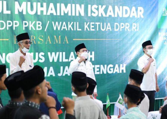 Sowan Ulama Jawa Tengah, Gus AMI Bahas Pemulihan Ekonomi Pasca Pandemi 113