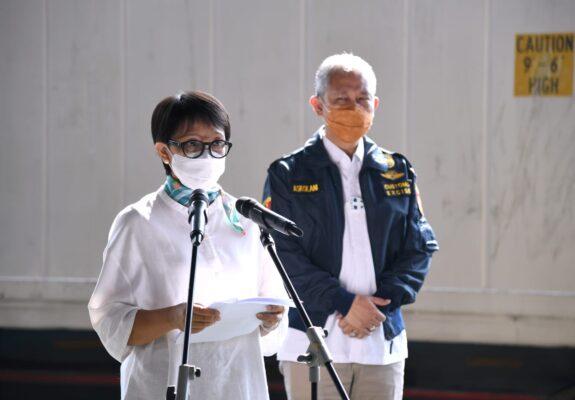 Menlu : Indonesia Dukung Penghapusan Hak Paten Vaksin COVID-19 113