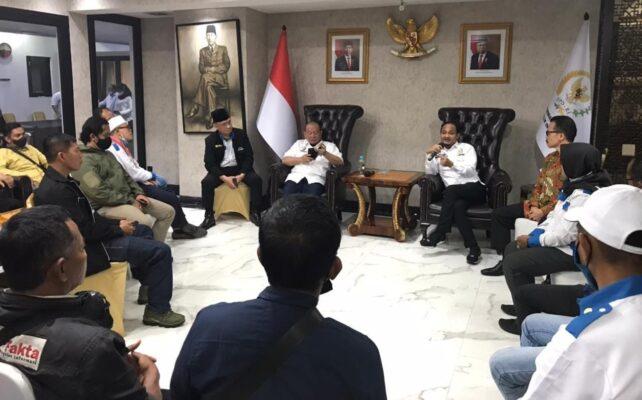 Bertemu Silahturahmi dengan PPWI, Ketua DPD-RI La Nyalla Mattalitti Ceritakan Pengalaman Hidupnya 114