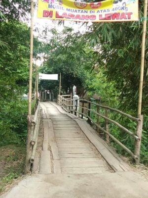Warga Desa Buara Mendesak Pemerintah Segera Bangun Jembatan 114