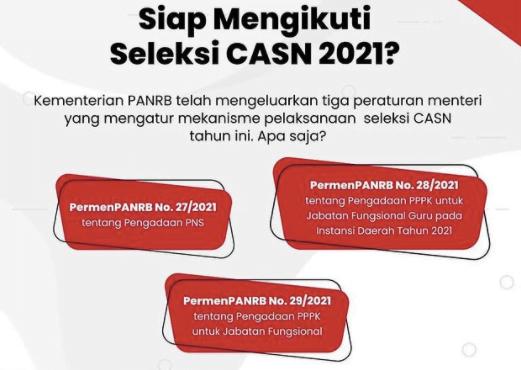 Kementerian PANRB Terbitkan Pedoman Pengadaan CASN Tahun 2021 113