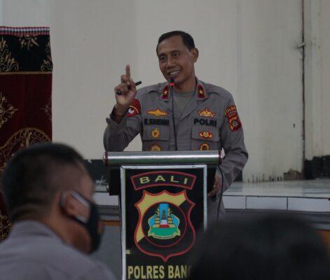 Wakapolda Bali : Teknologi dan Globalisasi Tantangan Polri Kedepan 113