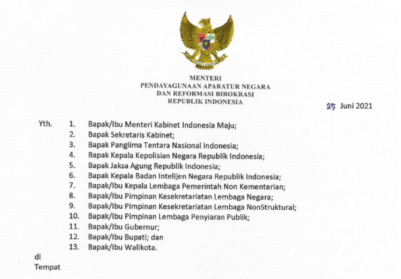 Menteri PANRB Keluarkan Peraturan Terbaru Pembatasan Mobilitas dan Cuti Bagi ASN 113