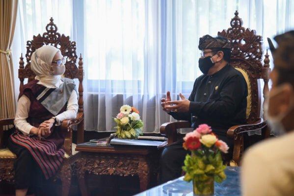Bertemu Wagub Bali, Stafsus Angkie Bahas Prioritas Vaksinasi Bagi Penyandang Disabiltas 113