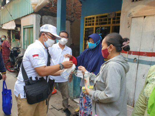 FBJP dan FKDM Ancol Bagikan Masker dan Hand Sanitizer 113