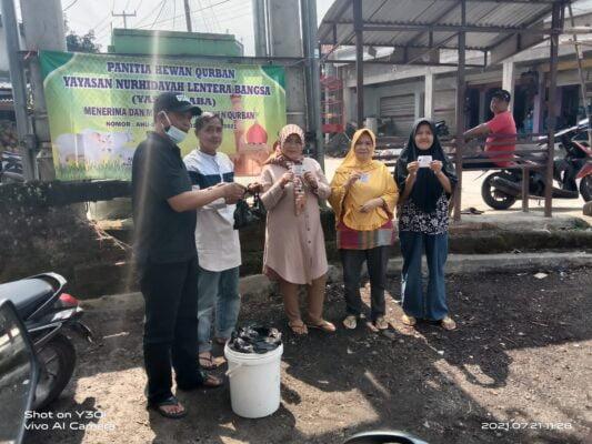 Rayakan Idul Adha 1442 H, Yayasan Nurhidayah Lentera Bangsa Potong 3 Ekor Hewan Qurban 113