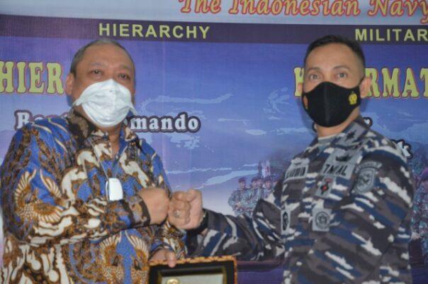 Komisi I Apresiasi Lanal Semarang Dukung Operasional KRI TNI AL 113
