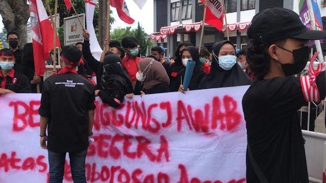Mau Demo Lagi Soal Bansos Rp 1,55 Miliar, GMNI Sebut Pemerintah Kuningan Lemah? 113