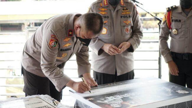 Kalemdiklat Polri Apresiasi Film Karya Serdik SIP Angkatan ke-50 113