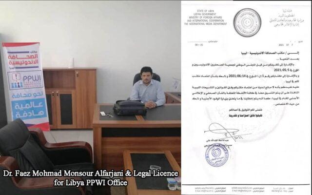 Perwakilan PPWI di Libya Resmi Terdaftar di Kementerian Luar Negeri dan Kerjasama Internasional Libya 113