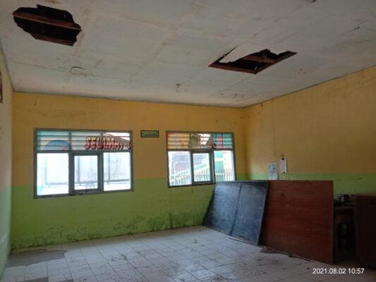 4 Ruang Kelas Rusak, Kepala Sekolah SDN 05 Loning Berharap Bantuan Perbaikan 115
