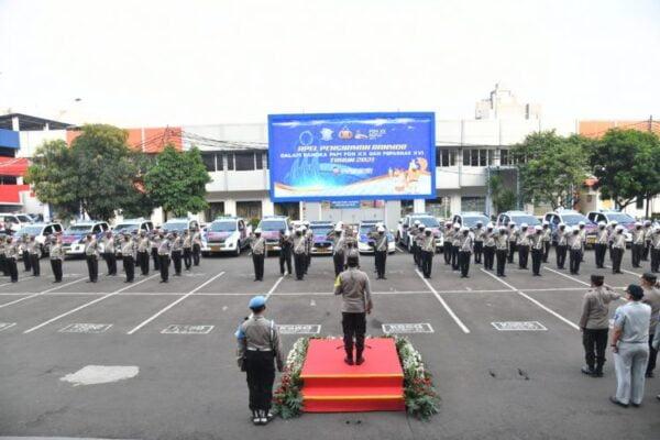 Korlantas Polri Dukung PON XX 2021 di Papua, Berikan 51 Unit Kendaraan 113