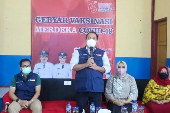 Gelar Vaksinasi Merdeka Bupati Jeje Sasar Pelajar di Pangandaran 113