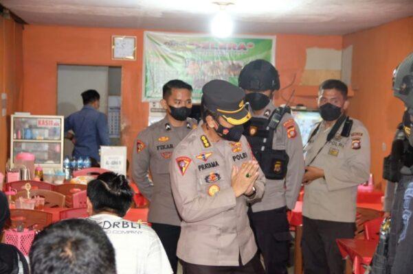 Tindaklanjuti Instruksi Kapolri, Polda Gorontalo Laksanakan Patroli Skala Besar dan Laksanakan Bansos 113