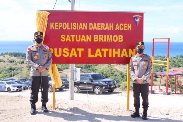 Tingkatkan Kemampuan, Kapolda Resmikan Pusat Latihan Satbrimob Polda Aceh 113