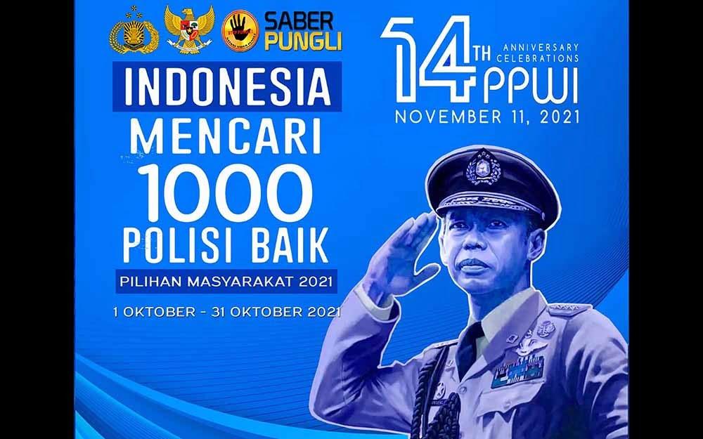 """Indonesia Mencari 1000 Polisi Baik yang Tidak Pernah Pungli"" 113"
